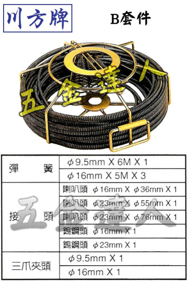 CCM-761_B套件,五金工具,通管條
