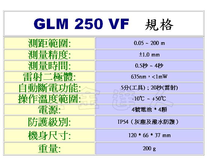 glm_250_8,雷射測距儀,五金工具
