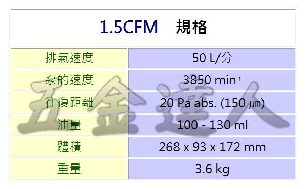 1.5CFM 2,充電式真空泵浦,五金工具